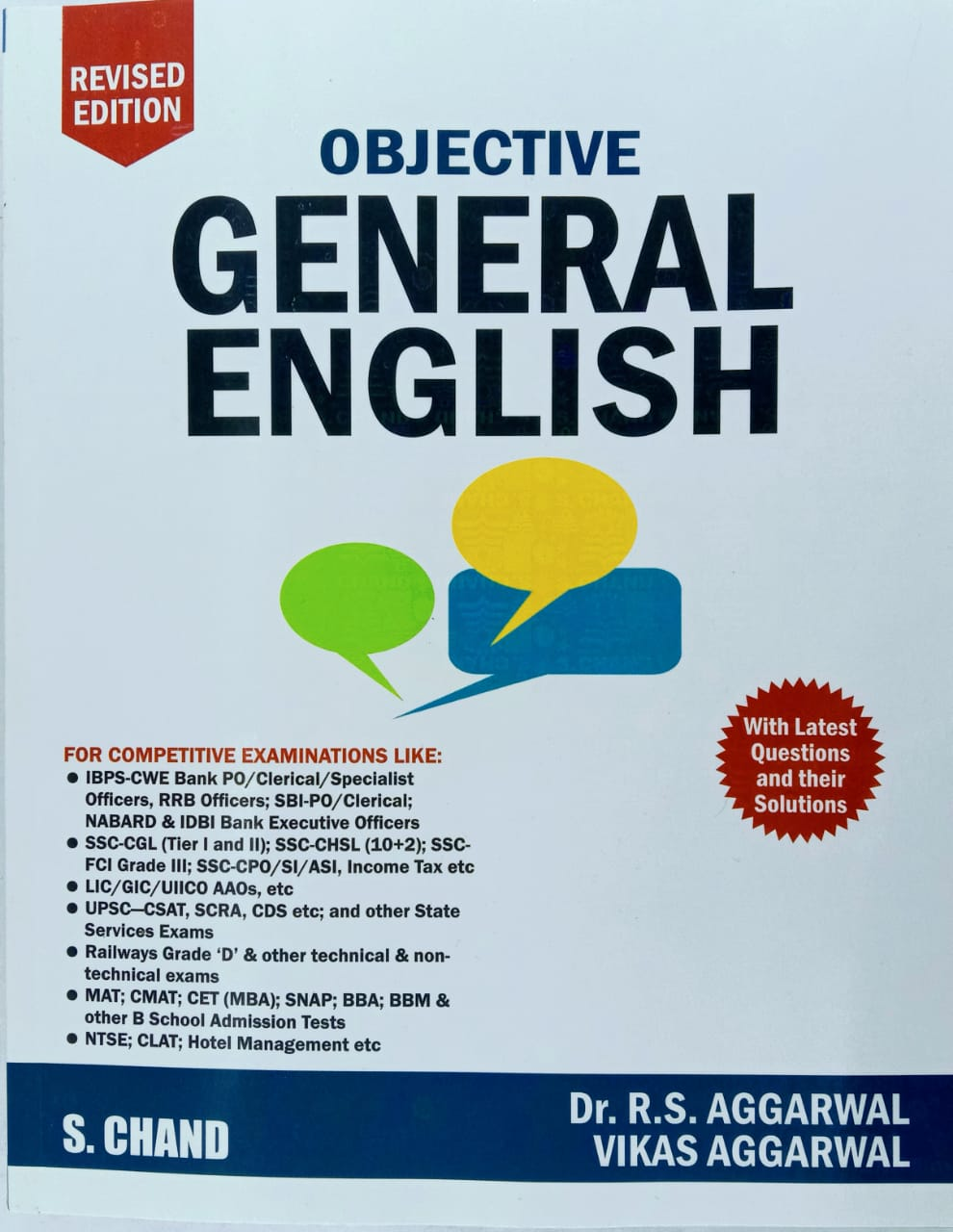 Objective General English by Dr. R S Aggarwal