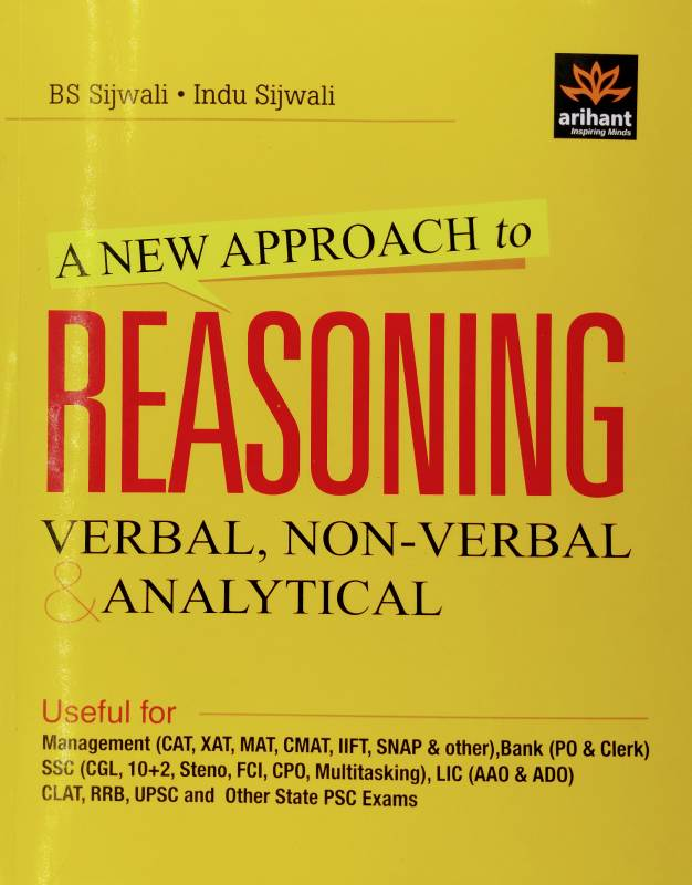 New Approach Reasoning by Arihant