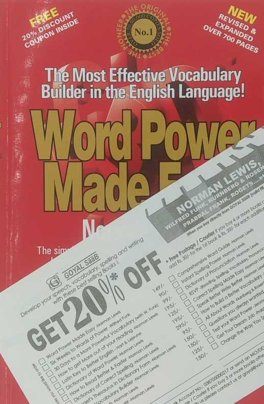 Word Power Made Easy-offer