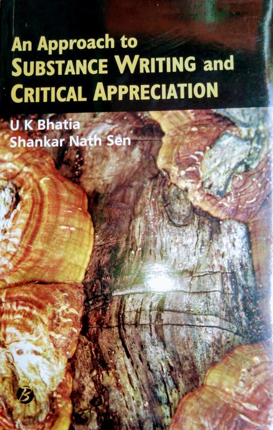 Buy An Approach to SUBSTANCE WRITING and CRITICAL APPRECIATION Book Online