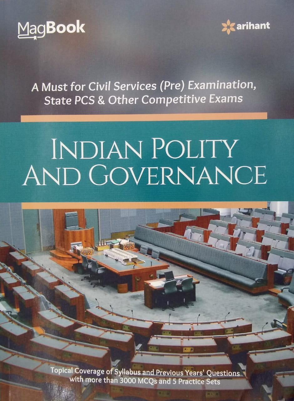 Indian Polity And Governance Magbook By Arihant (Updated)