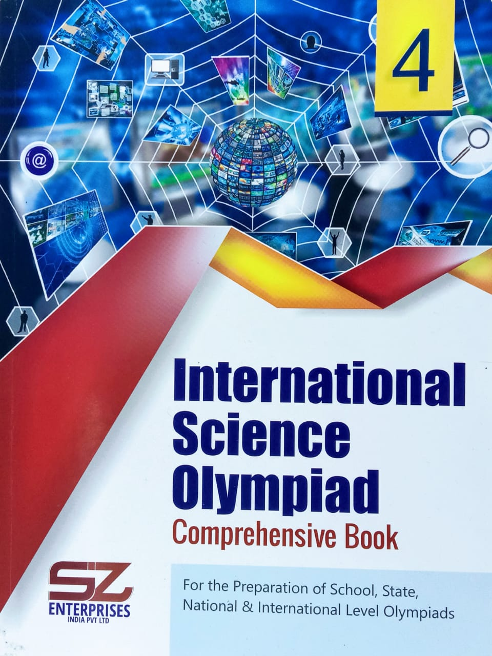 International Science Olympiad Comprehensive Book Class 4