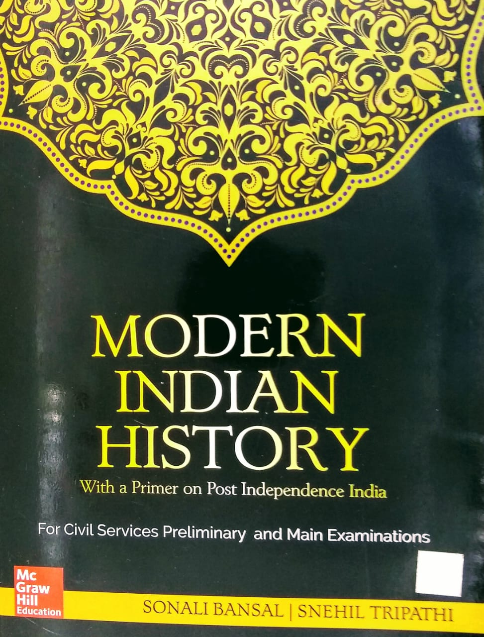 MODERN INDIAN HISTORY BY Mc Mcgraw Hill Education