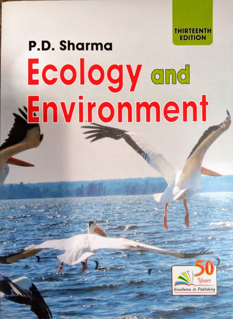 P.D. Sharma Ecology and Environment edition 2019