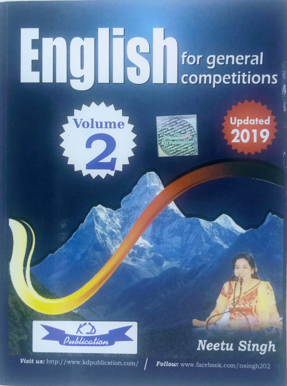 English for general competitions Volume 2 Updated 2019