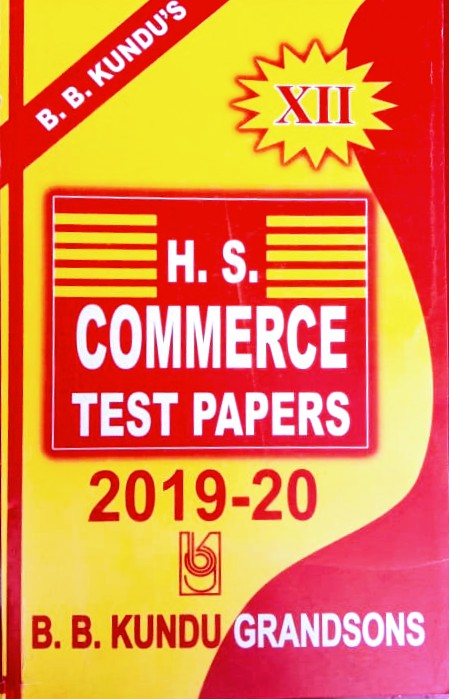 H.S. COMMERCE TEST PAPERS 2019-20