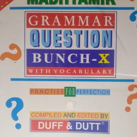 DUFF & DUTT GRAMMAR QUESTION BUNCH class 10 new edition 2020