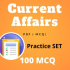 Current Affairs Practice Set 1 Pdf Bengali Only 100 Q